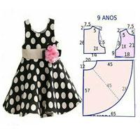 آموزش لباس کودک همراه با الگو