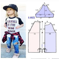 آموزش مدل لباس بچه همراه با الگو