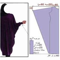 آموزش مدل مانتو همراه با الگو