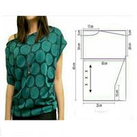 آموزش پیراهن همراه با الگو
