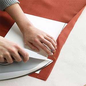 طرز دقیق کردن تای لبه لباس
