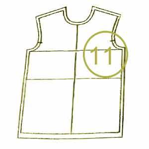 الگوی لباس کودک