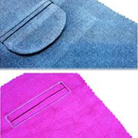 انواع مدل جیب روی لباس