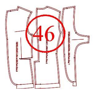 الگوی کت 46