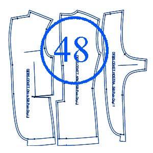 الگوی کت 48