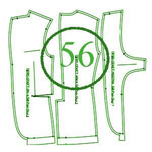 الگوی کت 56