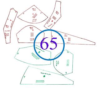 سوتین سایز 65