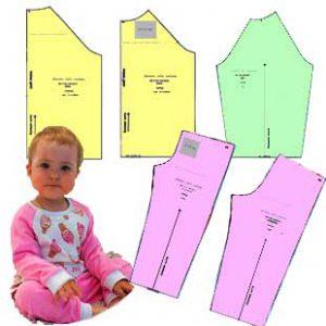 الگوی لباس رگلان کودک